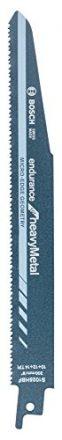 Bosch Professional Säbelsägeblatt Endurance for Heavy Metal zum Sägen in Metall (5 Stück, S 1025 HBF)